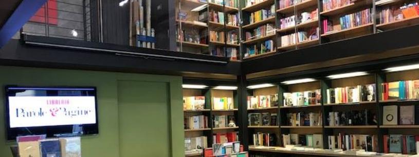 Un'immagine della Libreria Parole e Pagine in Corso di Porta Nuova