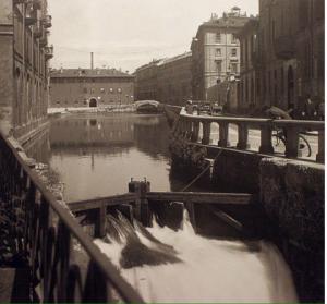 I Navigli di Milano, all'inizio dello scorso secolo