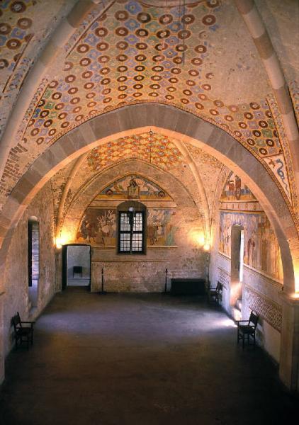 Rocca di Angera- Particolare della Sala di Giustizia (foto BAMS/Rodella trata da LBC)