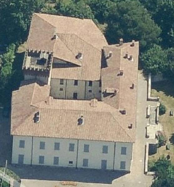 Castello Castglioni Mantegazza (VA)- Vista dall'alto