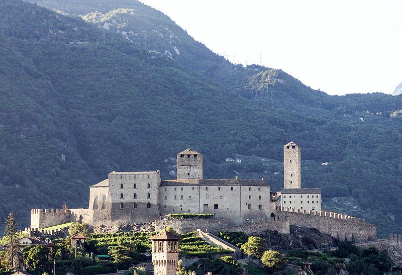 Castelgrande a Bellinzona (foto Tilman)