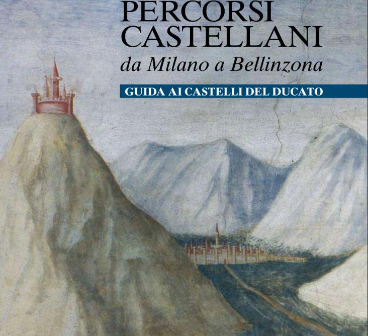 La copertina della pubblicazione del progetto dei Castelli del Ducato