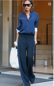 La celeb Victoria Beckham col i Side Panel Pants
