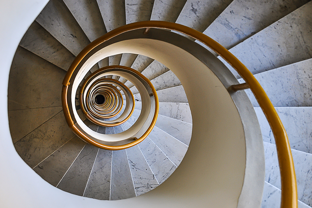 spiral deep point of view - Rome - LUIGI ALLONI