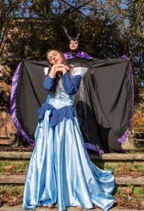 La Principessa Aurora e Malefica