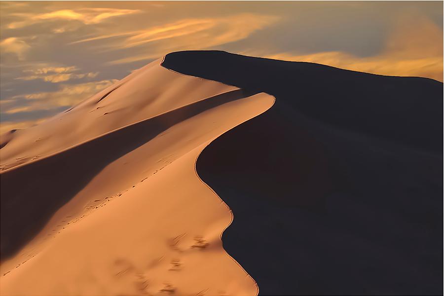 Alba sulla duna - LUIGI ALLONI