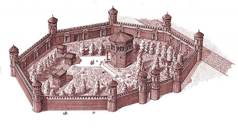 Mausoleo_Imperiale_Ricostruzione_A