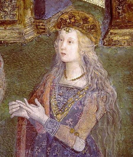 Lucrezia Borgia, dipinto del Pinturicchio
