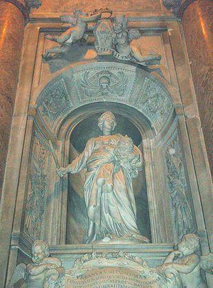 La tomba di Matilde di Canossa in S. Pietro di G.L. Bernini