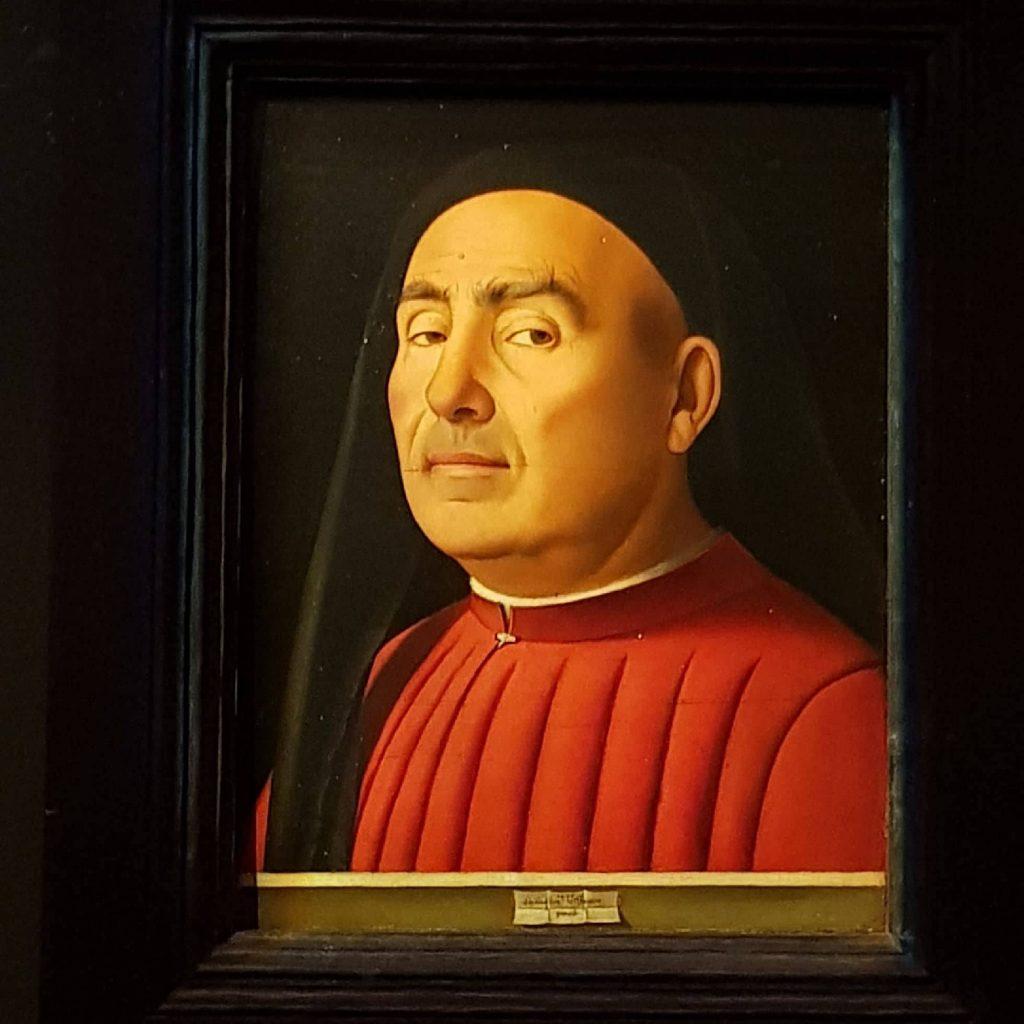 """Immagine del """"Ritratto Trivulzio"""" di Antonello da Messina"""