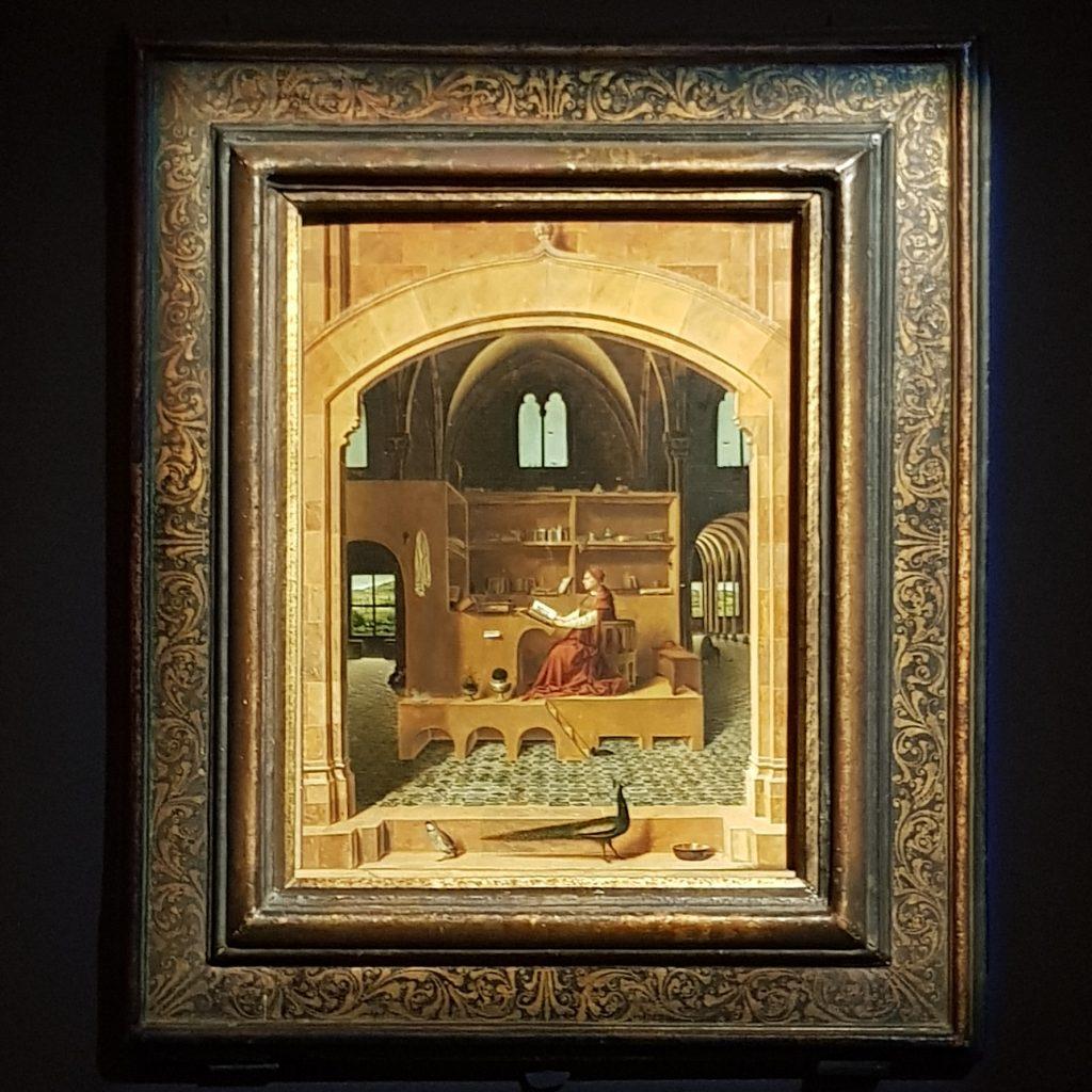 Immagine del dipinto San Girolamo nello studio di Antonello da Messina