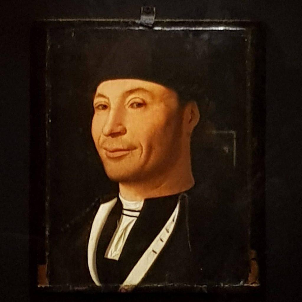 """Immagine di """"Ritratto di ignoto marinaio"""" di Antonello da Messina in mostra a Milano a Palazzo Reale"""