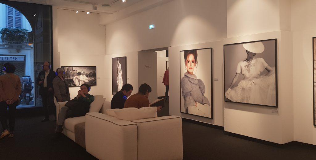 Immagine della mostra di Bob Krieger a Palazzo Morando