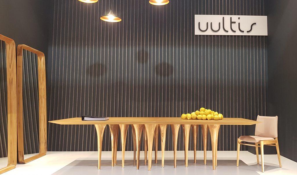 Uultis: Dinner Table, Designer: Sérgio Baista Uultis