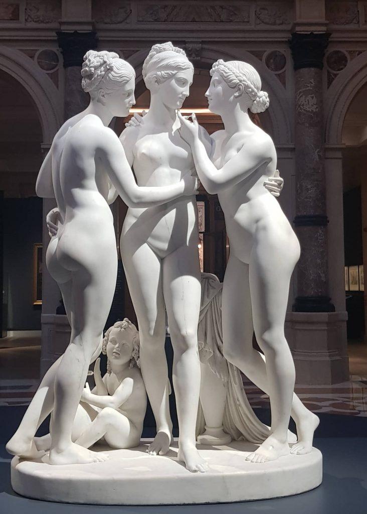 Bertel Thorvaldsen, Le Tre Grazie, 1817-1818,